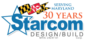 Starcom Design/Build Serving Maryland